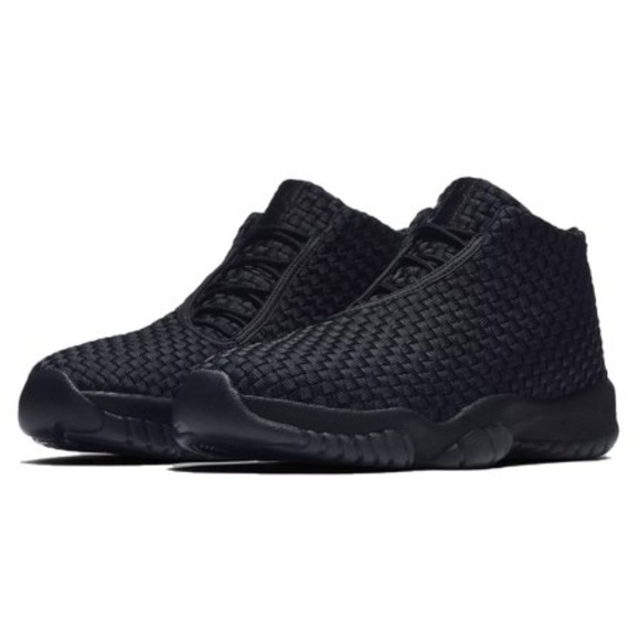 cheap for discount d0259 d3b08 Nike- Air Jordan Future Men s Triple Black- NIB